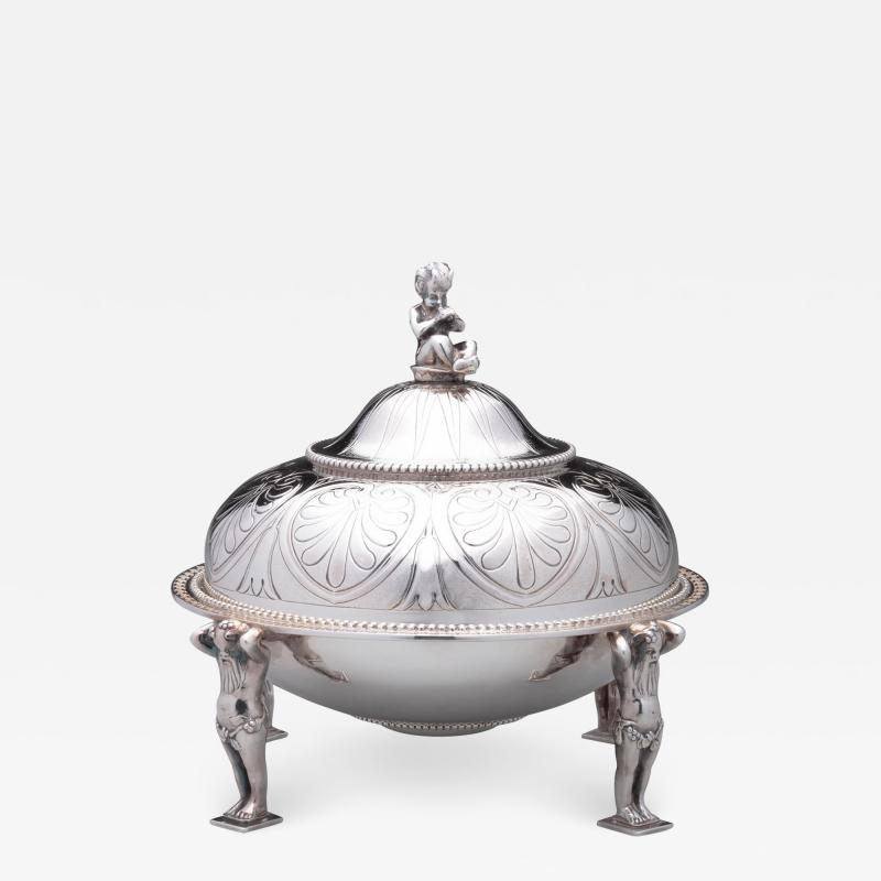 Tiffany and Co Tiffany Co Antique Sterling Covered Butter Dish 1865 70