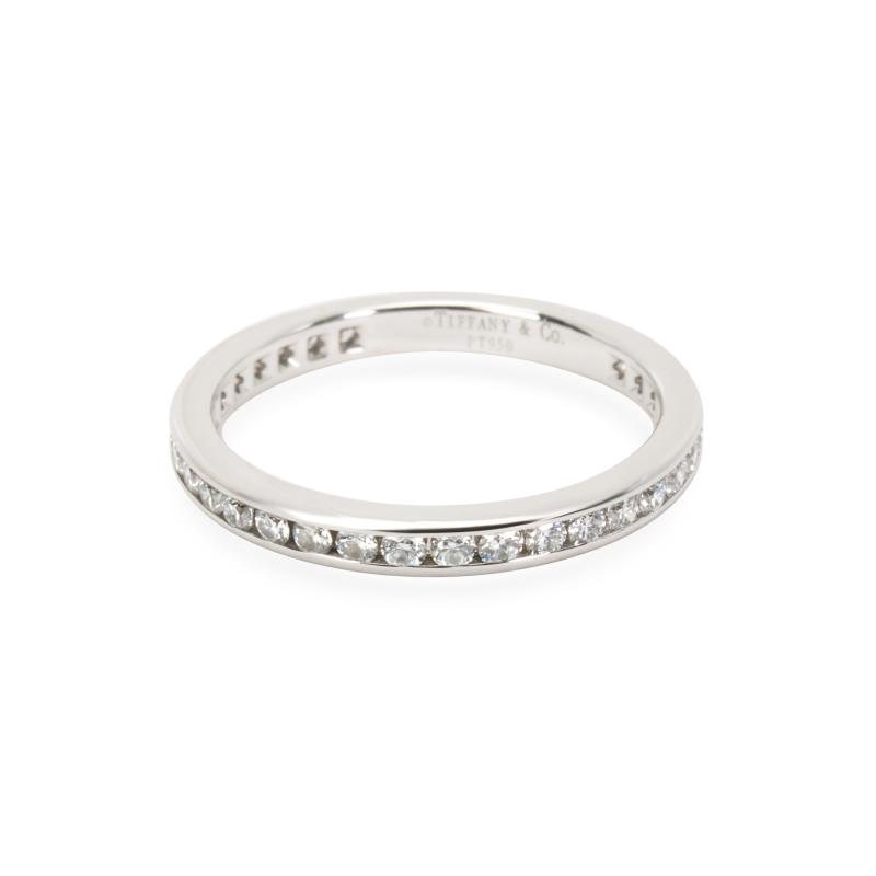 Tiffany and Co Tiffany Co Diamond Eternity Band in Platinum 0 56 CTW