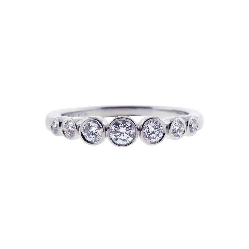 Tiffany and Co Tiffany Co Diamond Jazz Band Ring