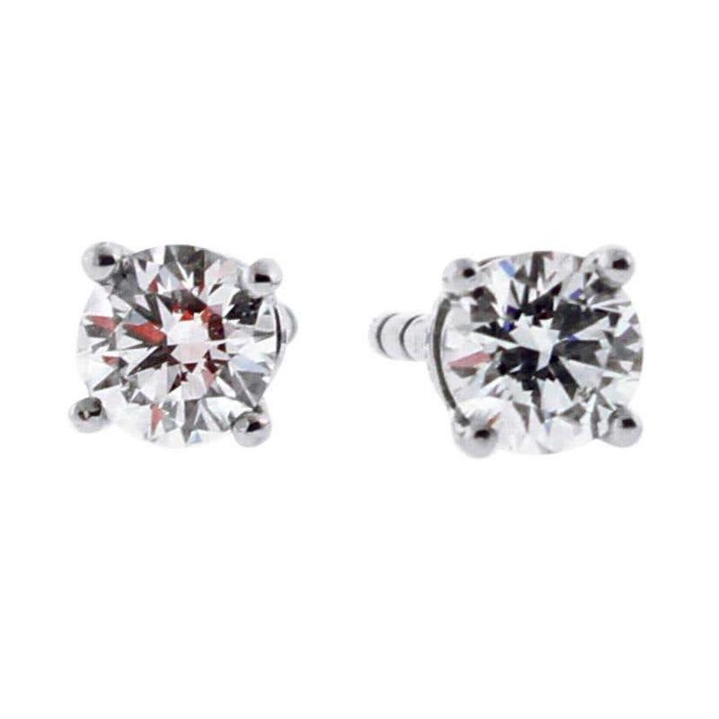 Tiffany and Co Tiffany Co Diamond Stud Earrings