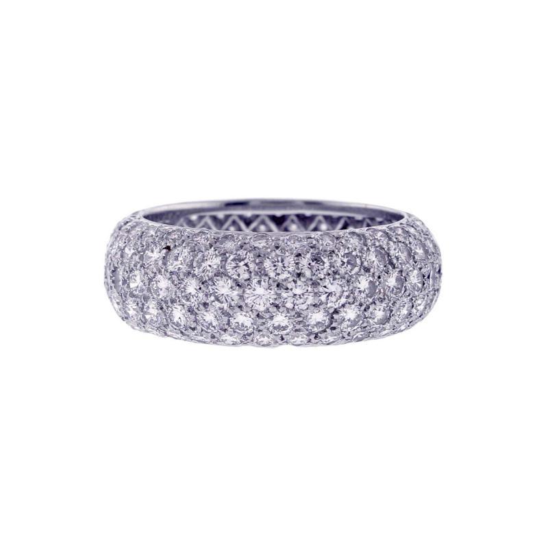 Tiffany and Co Tiffany Co Etoile Five Row Diamond Band Ring