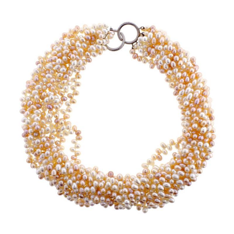 Tiffany and Co Tiffany Co Paloma Picasso Multi Strand Pearl Torsade Necklace