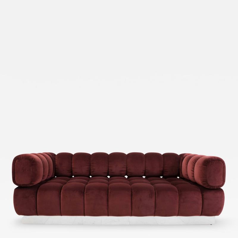 Todd Merrill Custom Originals Jumbo Tufted Sofa