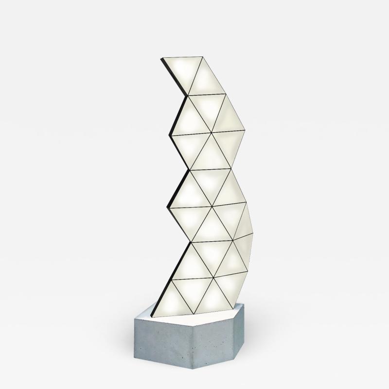 Tokio Furniture Lighting Contemporary Modular Floor Lamp Tri Light TRI23F