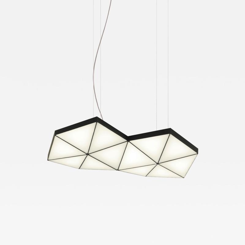 Tokio Furniture Lighting Contemporary Modular Pendant Light Tri Light TRI12