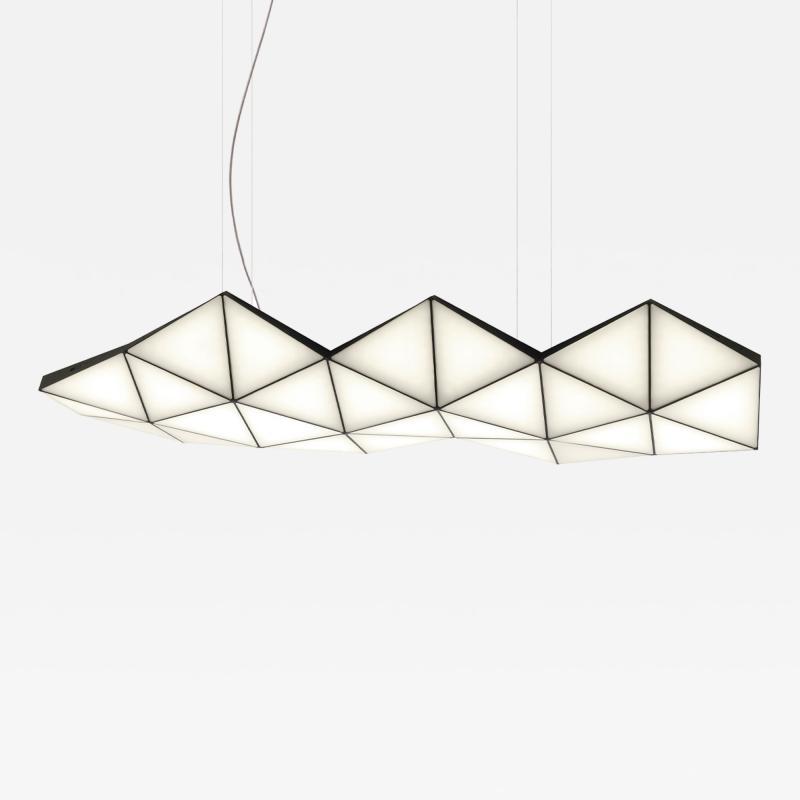 Tokio Furniture Lighting Contemporary Modular Pendant Light Tri Light TRI26