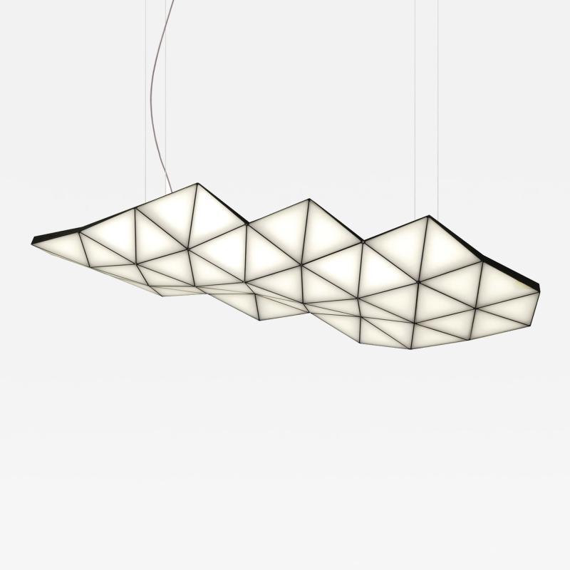 Tokio Furniture Lighting Contemporary Modular Pendant Light Tri Light TRI46