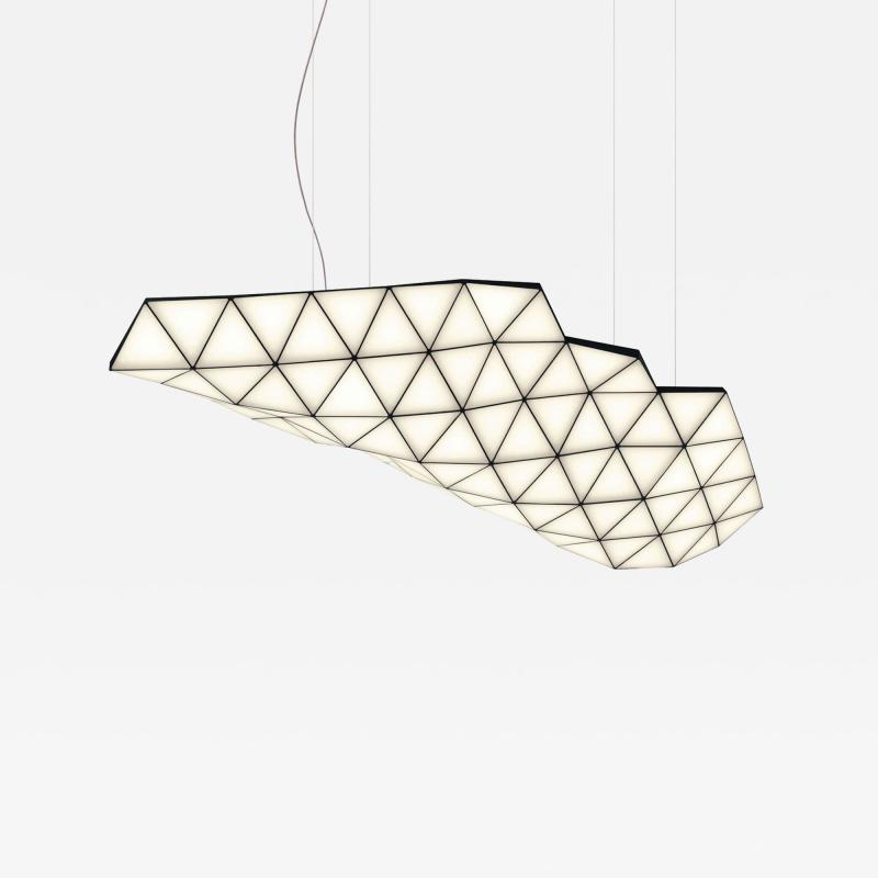 Tokio Furniture Lighting Contemporary Modular Pendant Light Tri Light TRI82