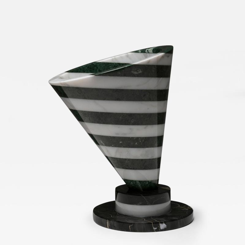 Up Up Piotr Marble Vase by Martin Bedin for Up Up