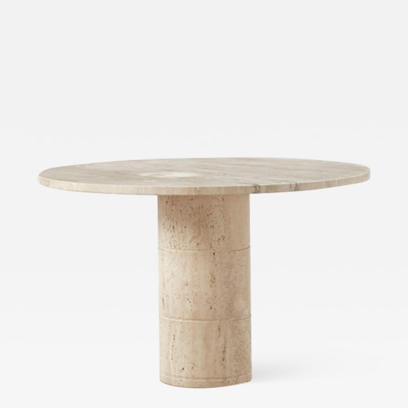 Up Up Up Up travertine dining table UP UP Italy c1970