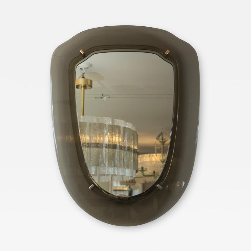 VECA Italian Mid Century Grey Mirror