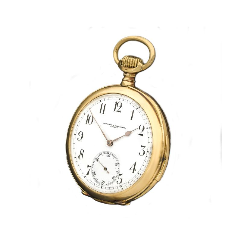 Vacheron Constantin Rare Early Vacheron Constantin 18 Kt YG Quarter Hour Repeating Pocket Watch