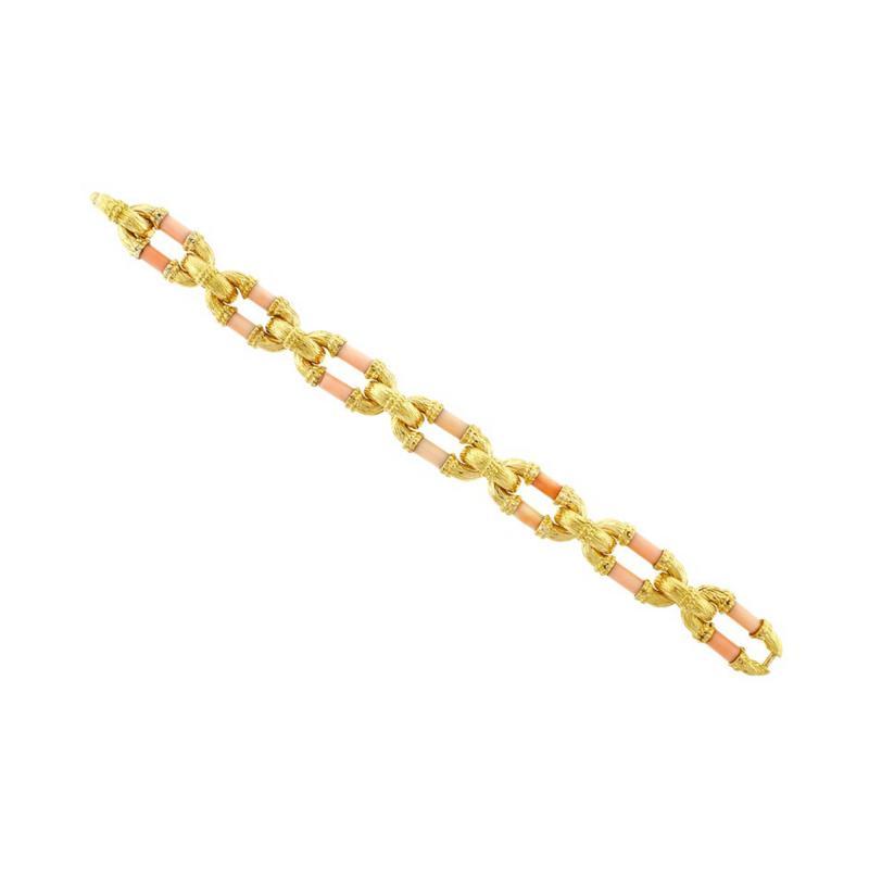 Van Cleef Arpels Van Cleef Arpels Angel Skin Coral Gold Bracelet