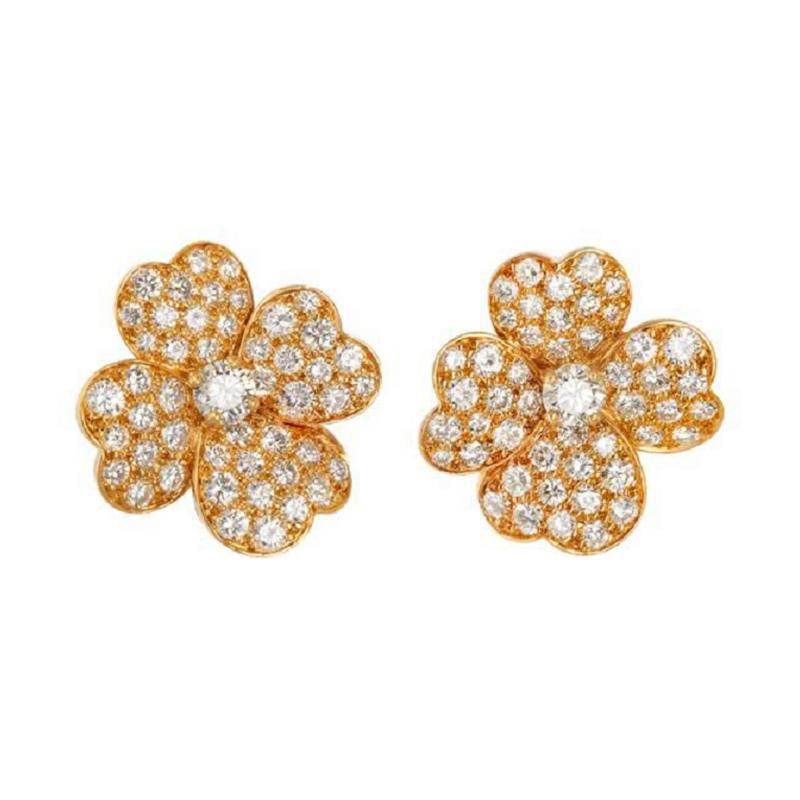 Van Cleef Arpels Van Cleef Arpels Cosmos earrings