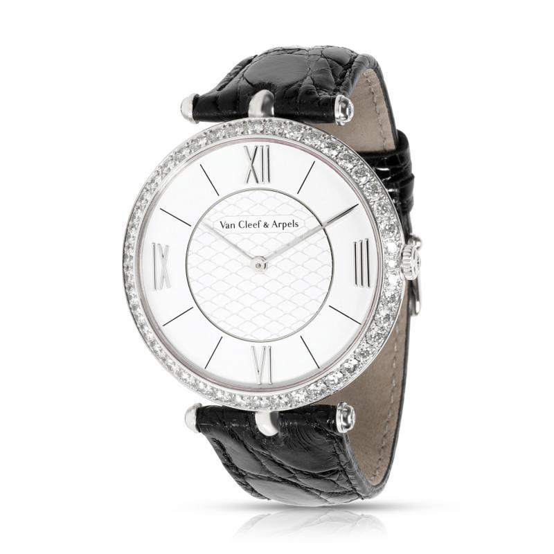 Van Cleef Arpels Van Cleef Arpels Pierre Arpels VCARO3GJ00 Unisex Watch in 18kt White Gold