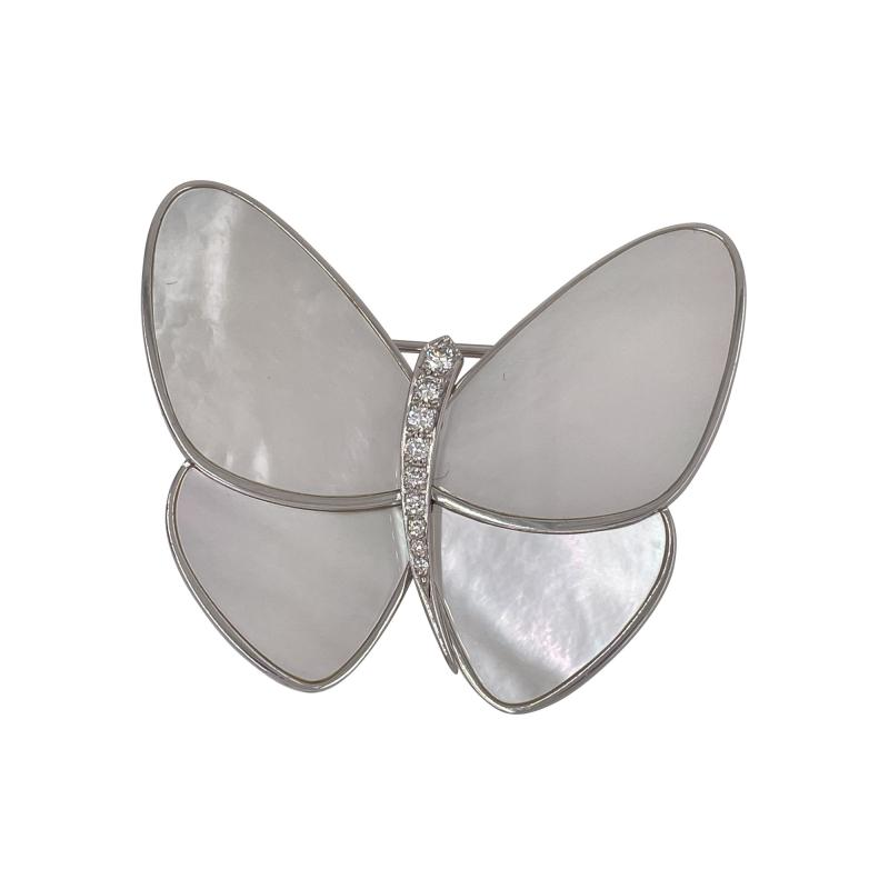 Van Cleef Arpels Van Cleef Arpels butterfly brooch