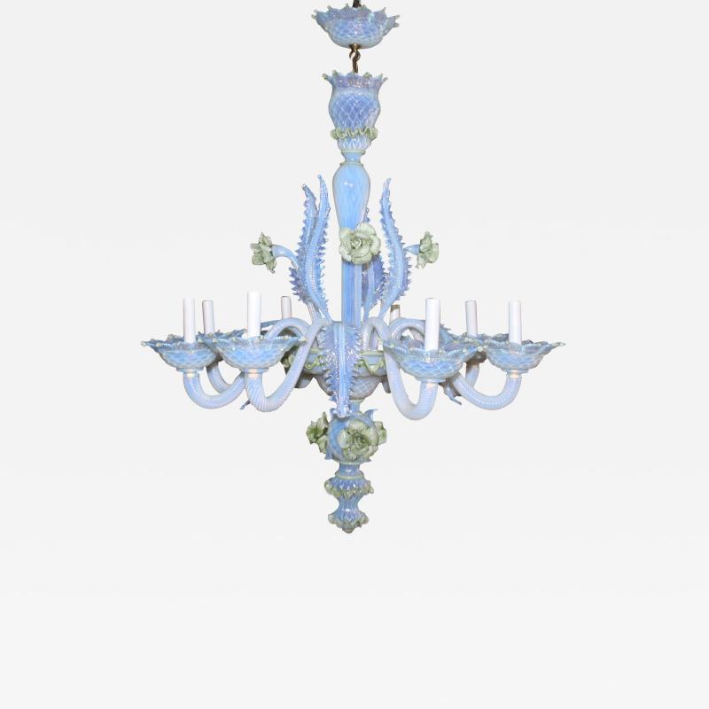 Venice Murano Co Murano Glass Ciocca Chandelier