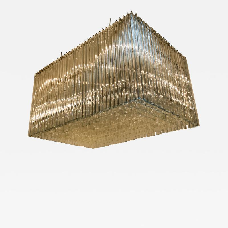 Venini Exceptional Venini Light Sculpture Italy 1970s