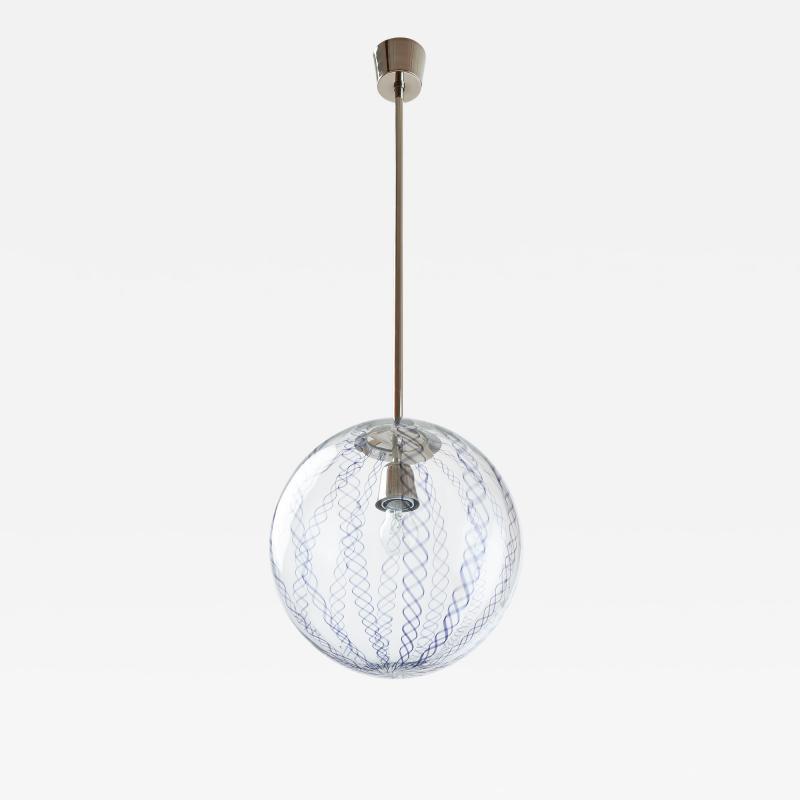 Venini Venini Blown Glass Lantern Italy 1950s
