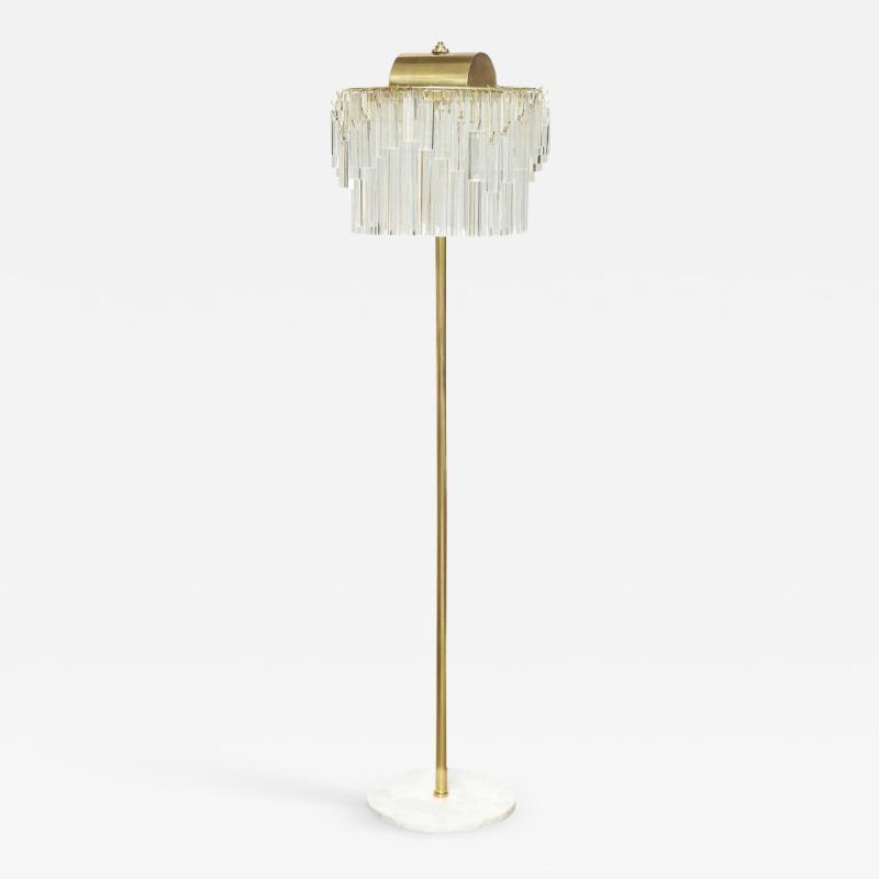 Venini Venini Crystal Prism Floor Lamp