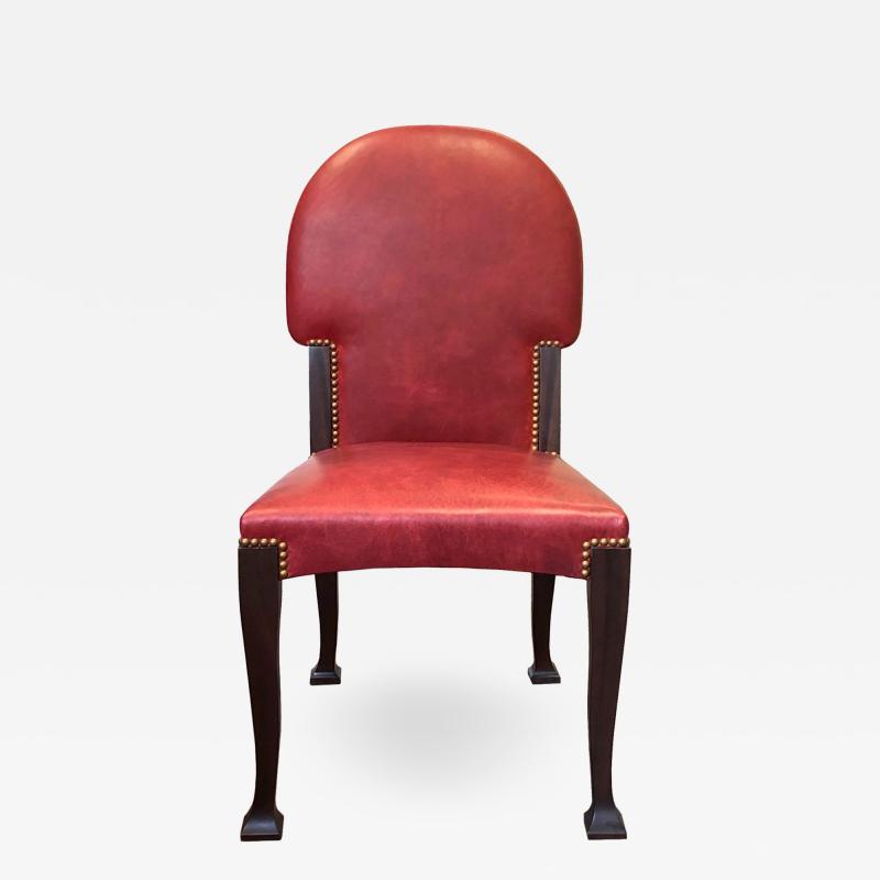 Victoria Son Art Nouveau Side Chair