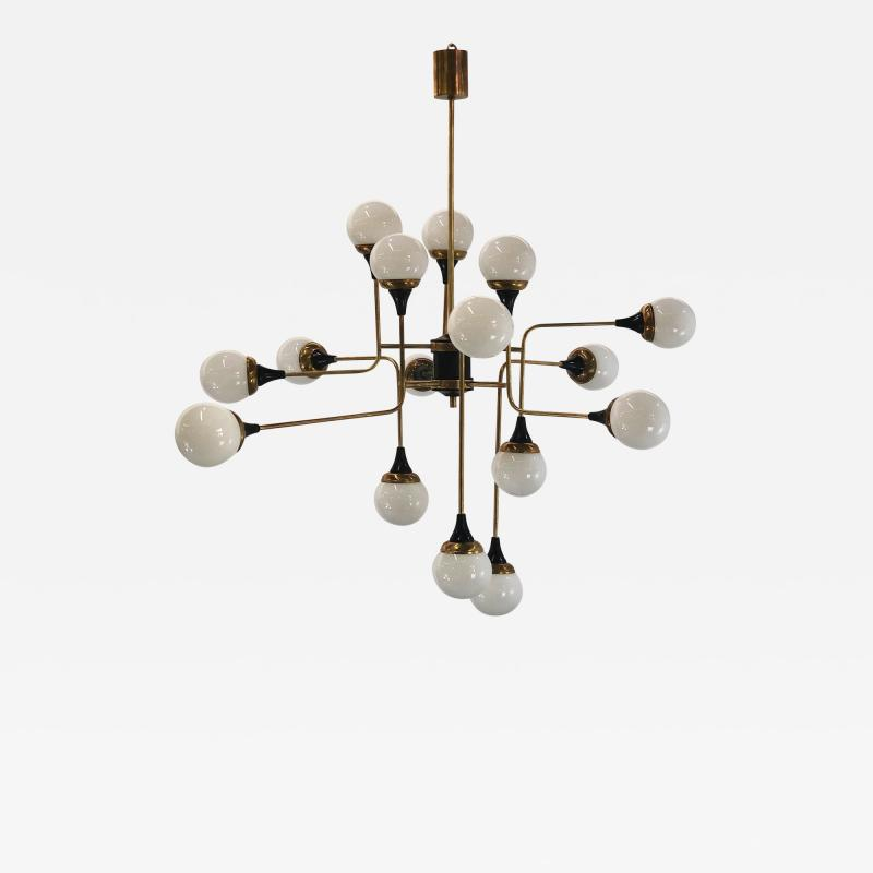 Vintage Domus Collection 16th century style chandelier in 16 lights