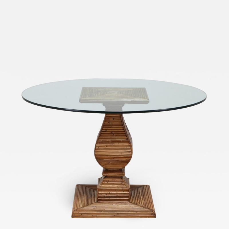 Vivai del Sud Vivai Del Sud Dining Table In The Style Of Gabriella Crespi 1970