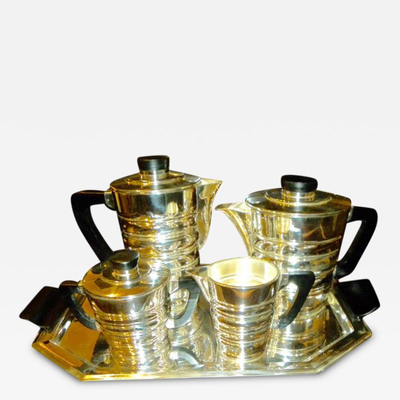 WMF Art Deco Modernist Coffee Tea Service