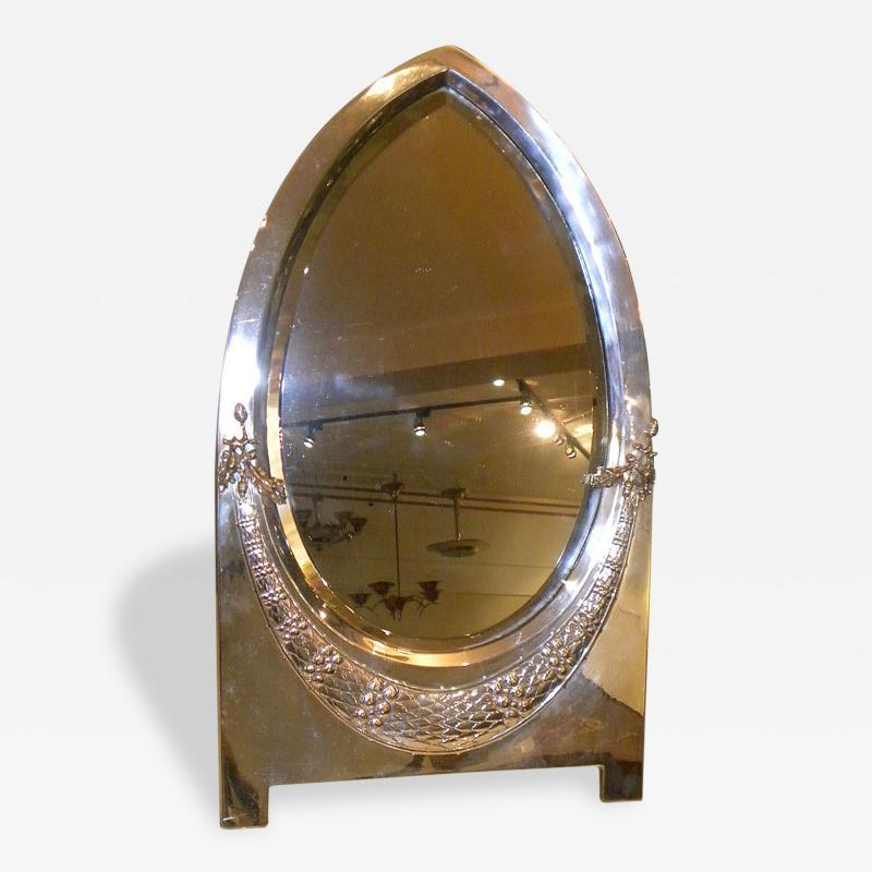WMF Elegant Art Deco Art Nouveau Silver Table Mirror