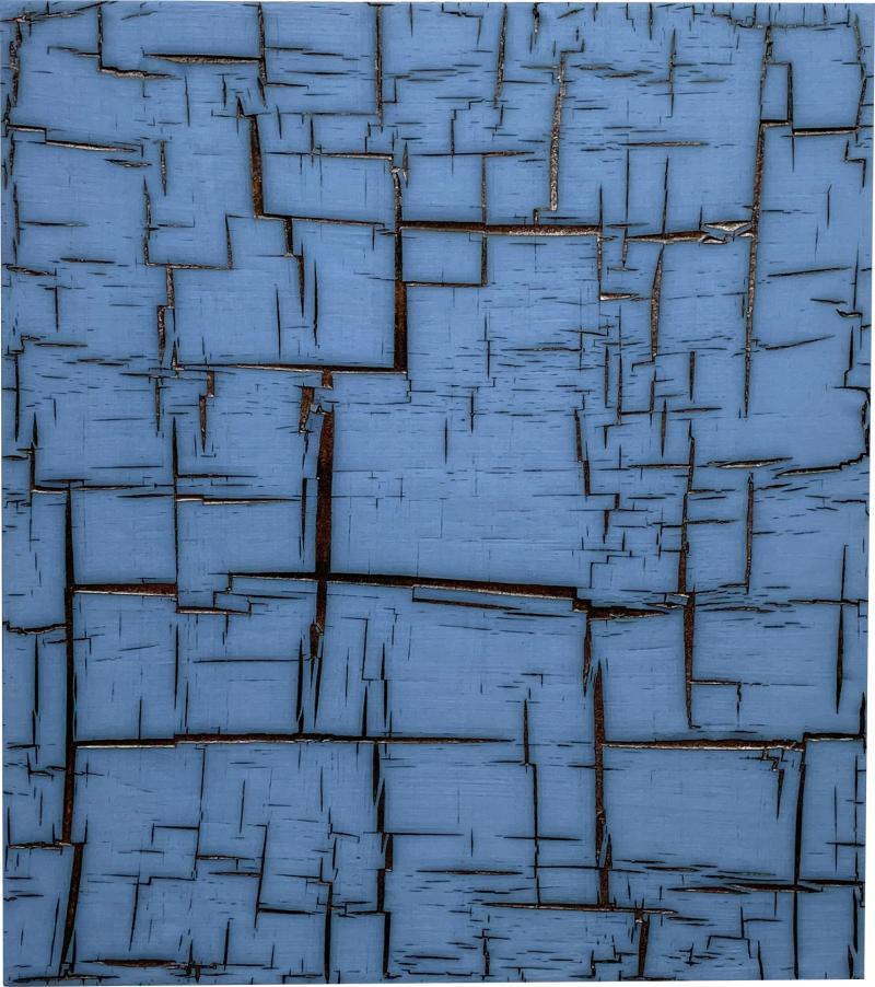 William Edwards Studio Blue Matrix