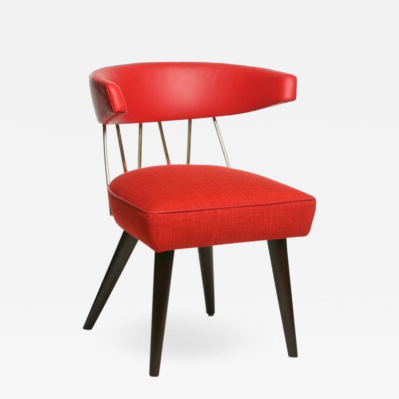 William Haines Inc Drum Dining Chair