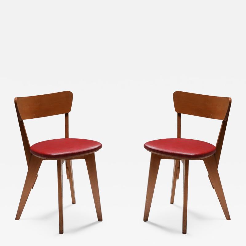 Wim Den Boon Dutch modernist chair by Wim den Boon 1947