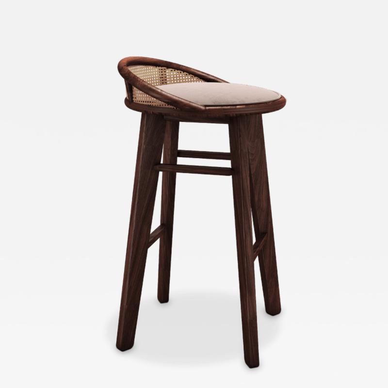 Wood Tailors Club Brummell BAR STOOL
