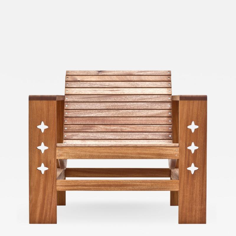 Wooda Uti Chair in Mahogany an Original Wooda Design