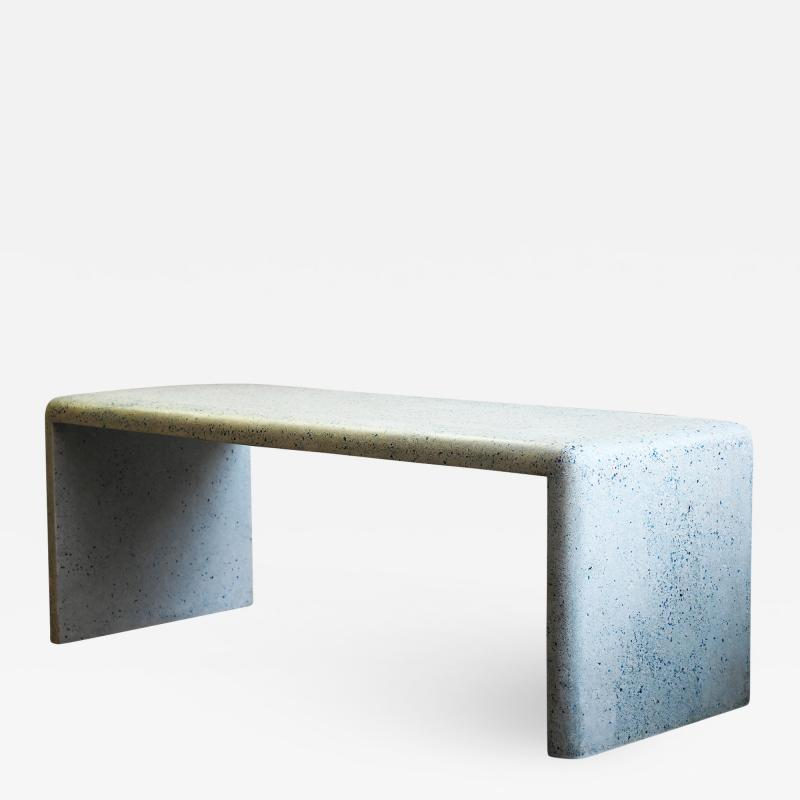 Zachary A Design 78 Cascade Dining Table in Moonstone Lightweight Terrazzo