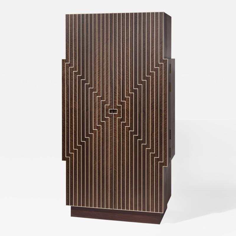 Zelouf and Bell Furniture Makers Stellad Cocktail Cabinet available through Maison Gerard