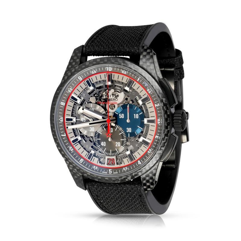 Zenith SA Zenith El Primero Lightweight 10 2260 4052W 98 R573 Mens Watch in Carbon Fiber