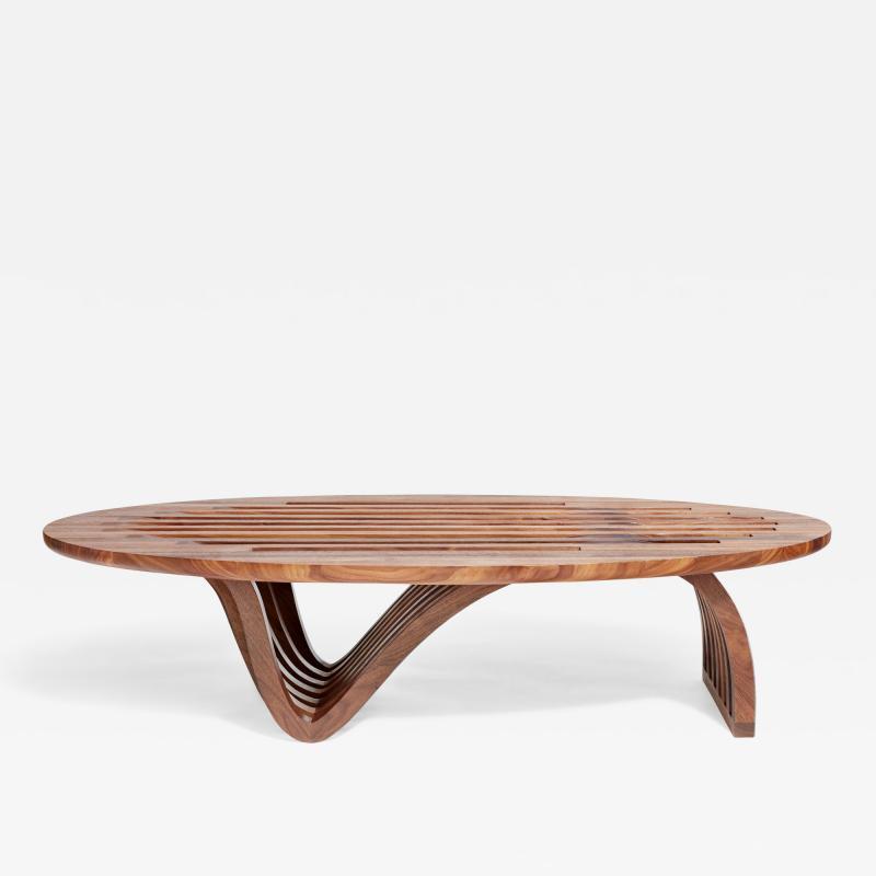 Zimmerman Workshop Ottra Elliptical Coffee Table