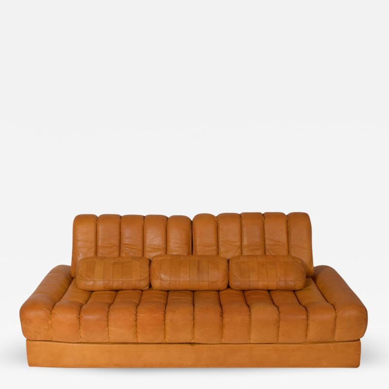 de Sede De Sede DS 85 Natural Daybed Leather Sofa Day bed Bed
