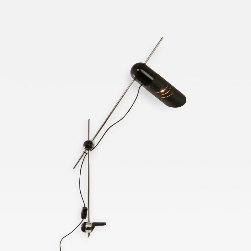 iGuzzini Harvey Guzzini Guzzini Galdino clamp lamp by Carlo Urbinati for Harvey Guzzini 1970s