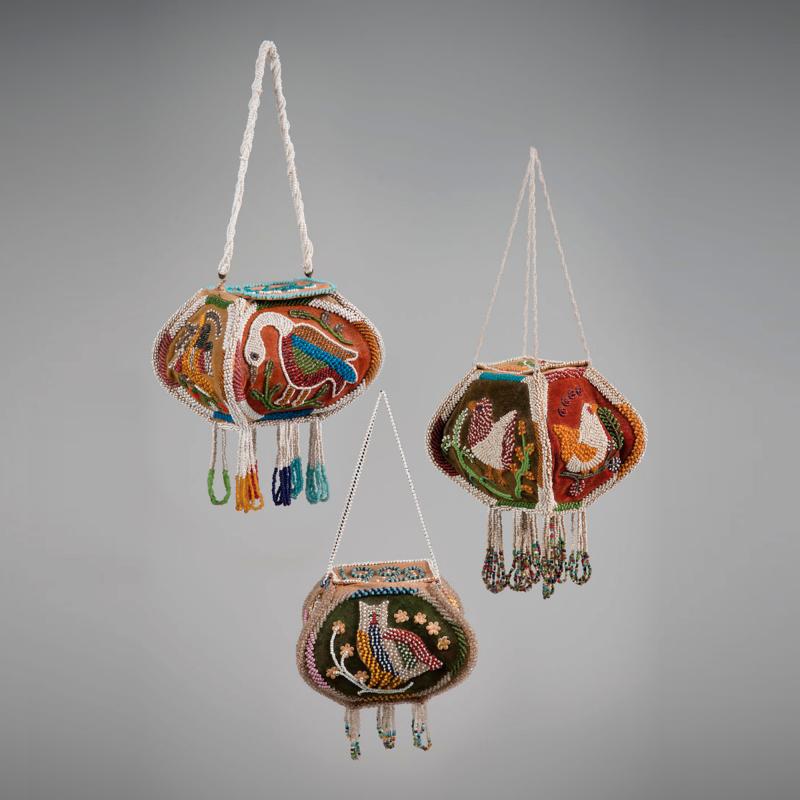 Native American Beaded Bags