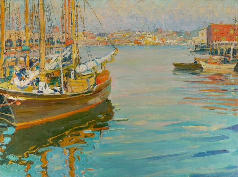Jane Peterson Gloucester Harbor