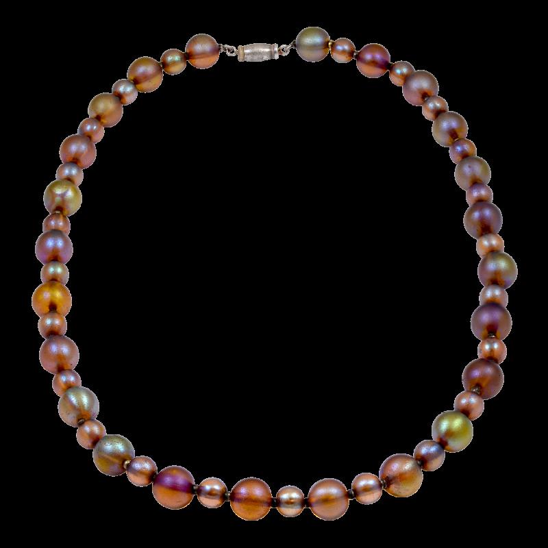 Wuttembergisches Metallwarenfabriek WMF Favrile Glass Beaded Necklace