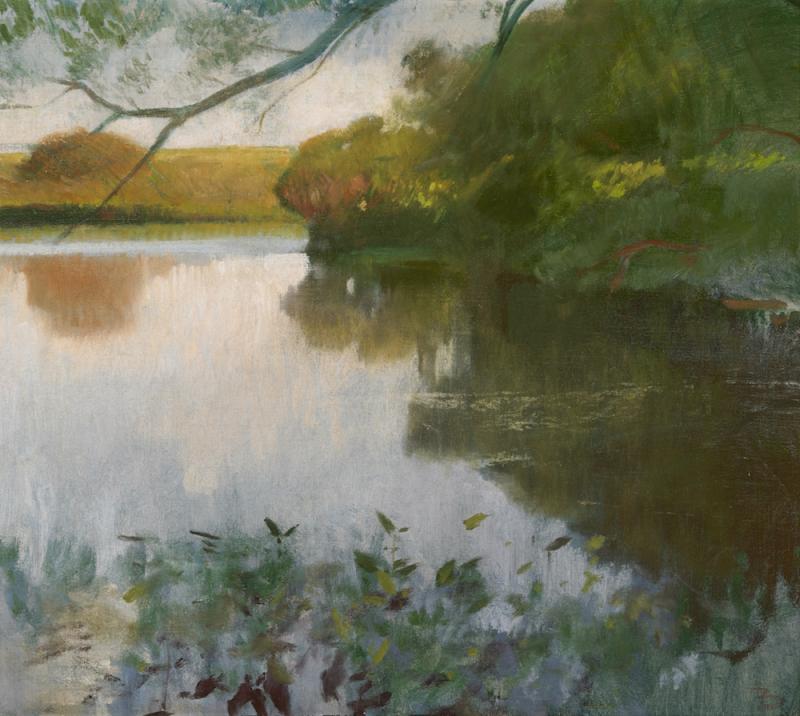 Frank Duveneck Landscape