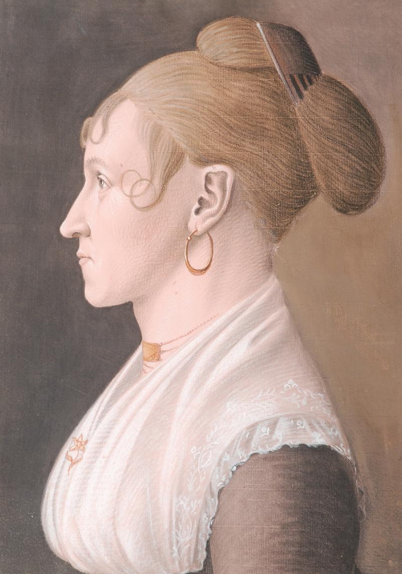 Portrait of a Woman Jeanne Depre