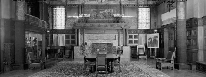 One Of The Few Surviving Interiors By Louis C Tiffany