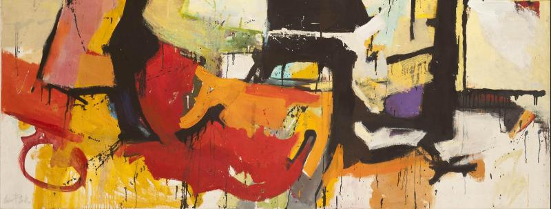 Hollis Taggart Galleries Presents Abstract Expressionist