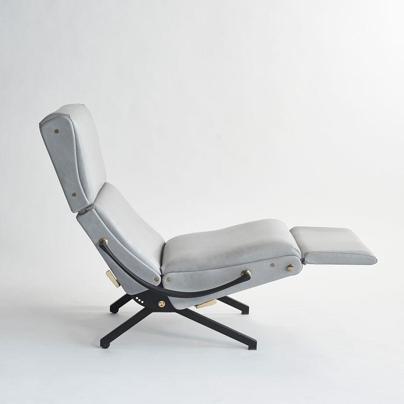 Osvaldo Borsani Original Production P40 Lounge Chair Osvaldo Borsani for Tecno Italy 1955