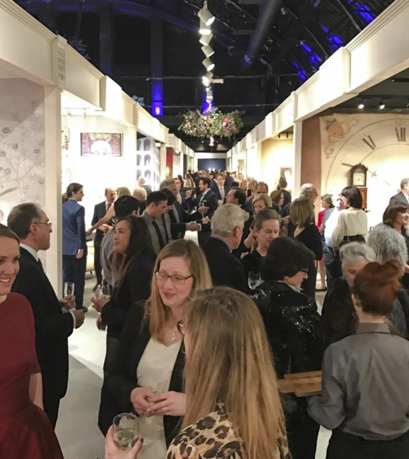 Opening Night at the Winter Antiques Show, NYC