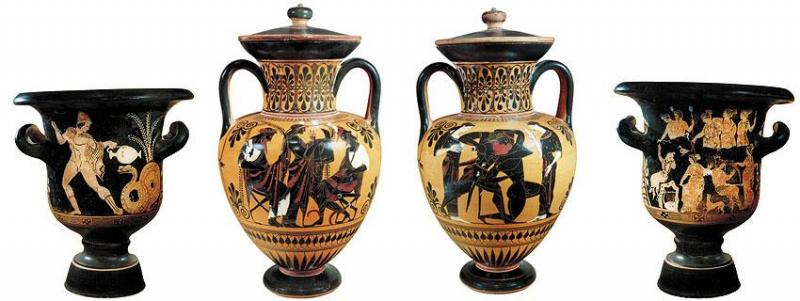 Black And Red Figure Vases By Jerome M Eisenberg Articles